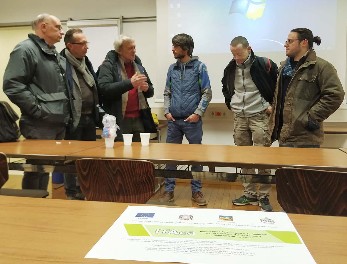 Gruppo di lavoro Itaca a Laimburg