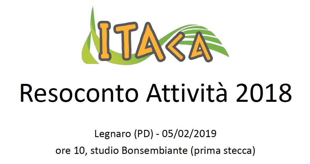 Rendicontazione ITAca 2018