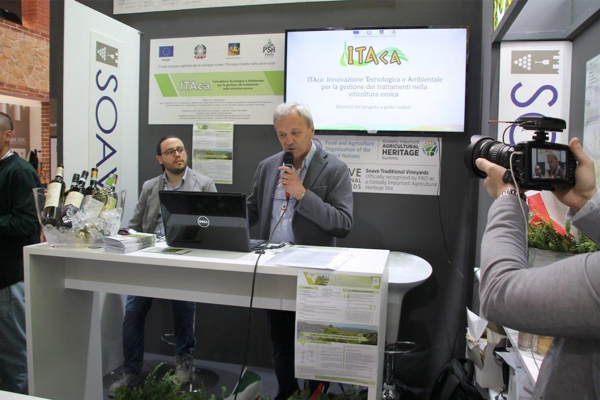Prof Giuseppe Zanin a Vinitaly